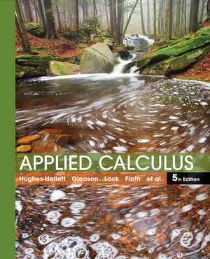 Applied Calculus 5e + WileyPLUS Registration Card