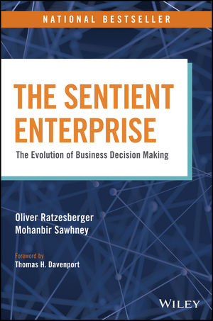 The Sentient Enterprise: The Evolution of Business Decision Making (1119438896) cover image