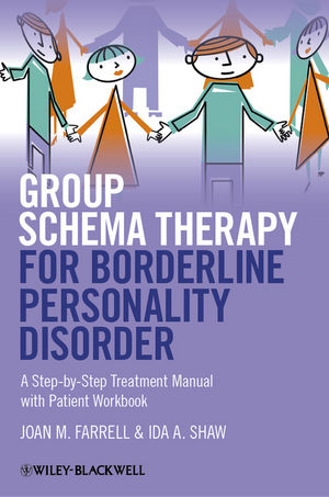 Group Schema Therapy for Borderline Personality Disorder: A Step-by-Step Treatment Manual with Patient Workbook (1119958296) cover image