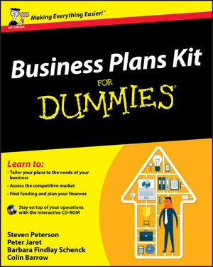 Business Plans Kit For Dummies, UK Edition (1119997496) cover image