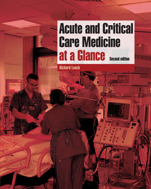 Acute and Critical Care Medicine at a Glance, 2nd Edition (1405161396) cover image