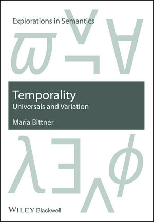 Temporality: Universals and Variation (1405190396) cover image