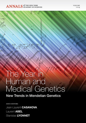 The Year in Human and Medical Genetics: New Trends in Mendelian Genetics (1573317896) cover image