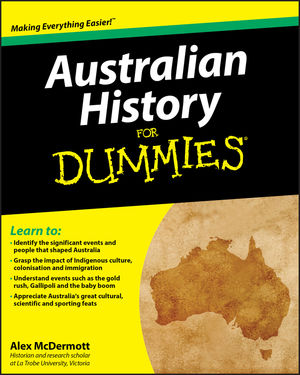 Australian History for Dummies (1742169996) cover image