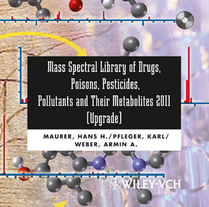 Mass Spectral Library of Drugs, Poisons, Pesticides, Pollutants and Their Metabolites 2011, Upgrade
