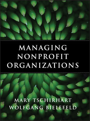 Managing Nonprofit Organizations (0470402997) cover image