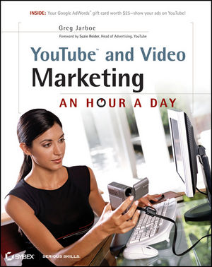 Book Cover Image for YouTube and Video Marketing: An Hour a Day