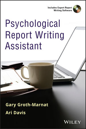 Wiley: Psychological Report Writing Assistant - Gary Groth-Marnat