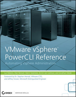 VMware vSphere PowerCLI Reference: Automating vSphere Administration (0470890797) cover image