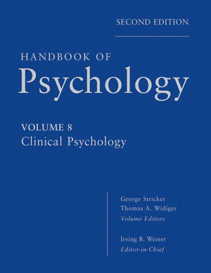 Handbook of Psychology, Volume 8, Clinical Psychology, 2nd Edition (0470917997) cover image