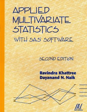 Applied Multivariate Statistics with SAS Software, 2nd Edition