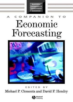 A Companion to Economic Forecasting (0631215697) cover image