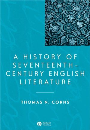 A History of Seventeenth-Century English Literature (0631221697) cover image