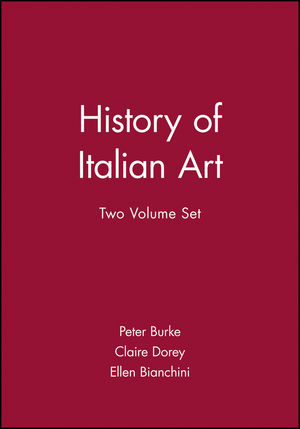 History of Italian Art, 2 Volume Set