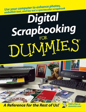 Digital Scrapbooking For Dummies (0764584197) cover image