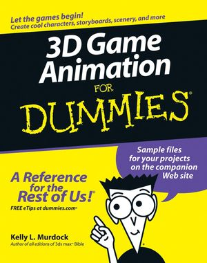 3D Game Animation For Dummies (0764587897) cover image