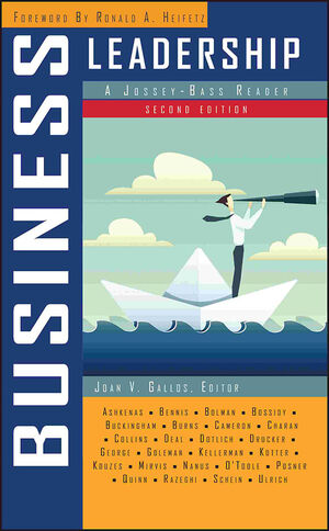 Business Leadership: A Jossey-Bass Reader, 2nd Edition (0787988197) cover image