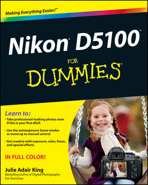 Nikon D5100 For Dummies (1118118197) cover image