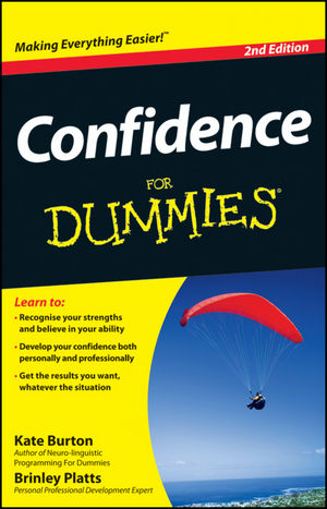 Confidence For Dummies, 2nd Edition (1118314697) cover image
