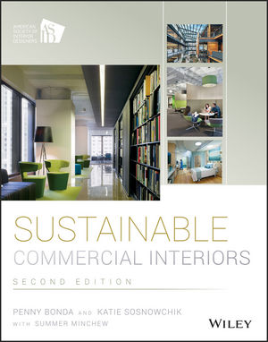 Book Cover Image for Sustainable Commercial Interiors, 2nd Edition