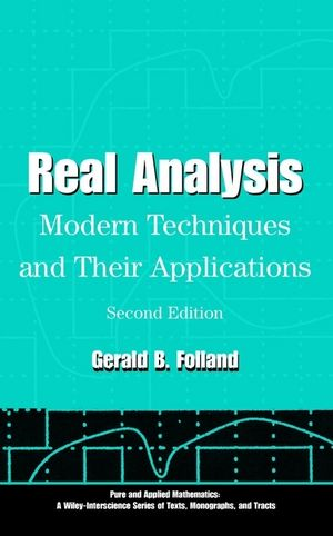 Real Analysis: Modern Techniques and Their Applications, 2nd Edition (1118626397) cover image