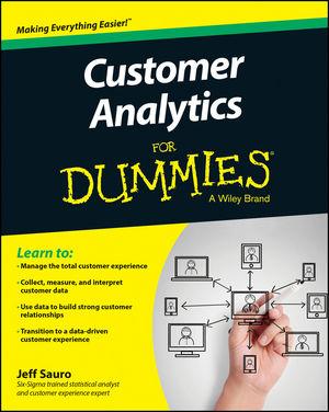 Customer Analytics For Dummies (1118937597) cover image
