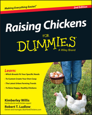 Raising Chickens For Dummies, 2nd Edition (1118982797) cover image