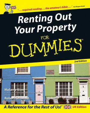 Renting Out Your Property For Dummies, 2nd UK Edition