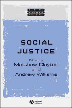 Social Justice (1405111097) cover image