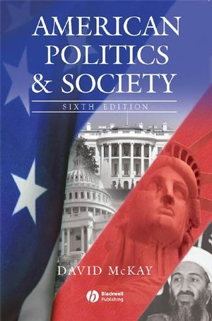 American Politics and Society, 6th Edition (1405151897) cover image