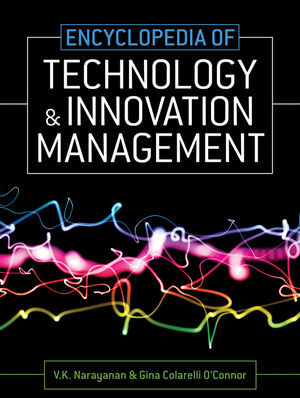 Encyclopedia of Technology and Innovation Management (1405160497) cover image