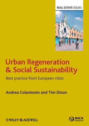 Urban Regeneration and Social Sustainability: Best Practice from European Cities (1405194197) cover image