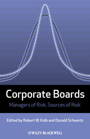 Corporate Boards: Managers of Risk, Sources of Risk (1444315897) cover image