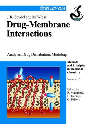 Drug-Membrane Interactions: Analysis, Drug Distribution, Modeling, Volume 15 (3527616497) cover image