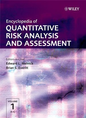 Encyclopedia of Quantitative Risk Analysis and Assessment (0470035498) cover image