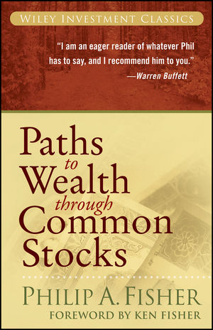 Paths to Wealth Through Common Stocks (0470139498) cover image