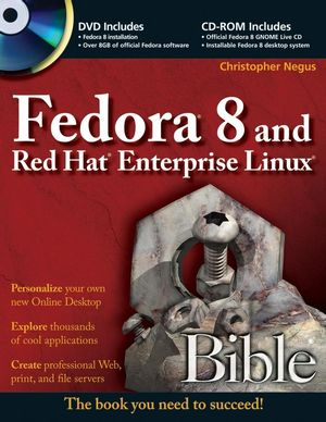 Fedora 8 and Red Hat Enterprise Linux Bible (0470289198) cover image
