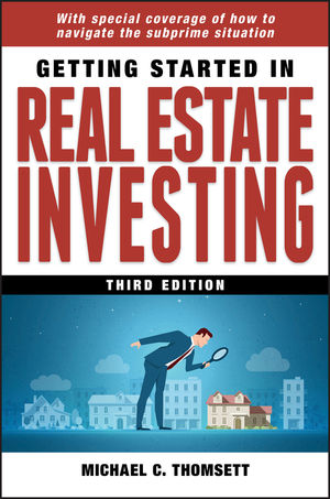 Getting Started in Real Estate Investing, 3rd Edition (0470423498) cover image