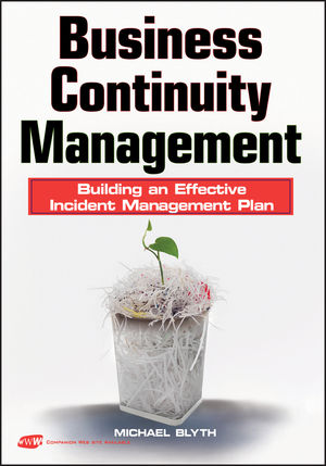 Business Continuity Management: Building an Effective Incident Management Plan (0470478098) cover image