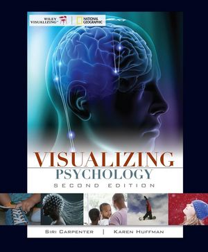 Visualizing Psychology, 2nd Edition (0470569298) cover image