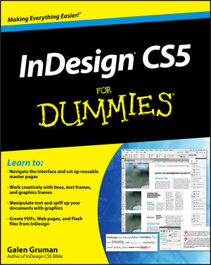 InDesign CS5 For Dummies (0470614498) cover image