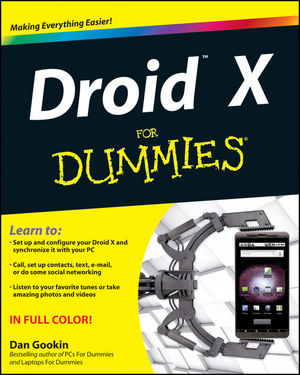 Droid X For Dummies (0470903198) cover image