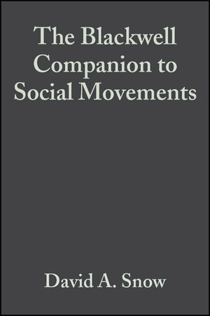 The Blackwell Companion to Social Movements (0470999098) cover image