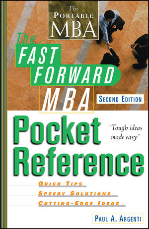 The Fast Forward MBA Pocket Reference, 2nd Edition (0471244198) cover image