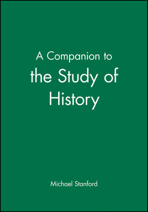A Companion to the Study of History (0631181598) cover image