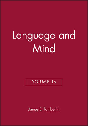 Language and Mind, Volume 16