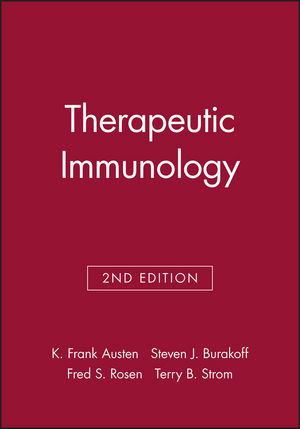 Therapeutic Immunology, 2nd Edition (0632043598) cover image