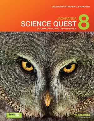 Jacaranda Science Quest 8 for Victoria Australian Curriculum 1e (revised) learnON & print