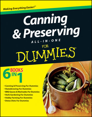 Canning and Preserving All-in-One For Dummies (1118034198) cover image