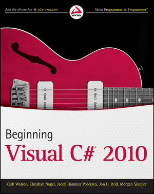 Beginning Visual C# 2010 (1118057198) cover image